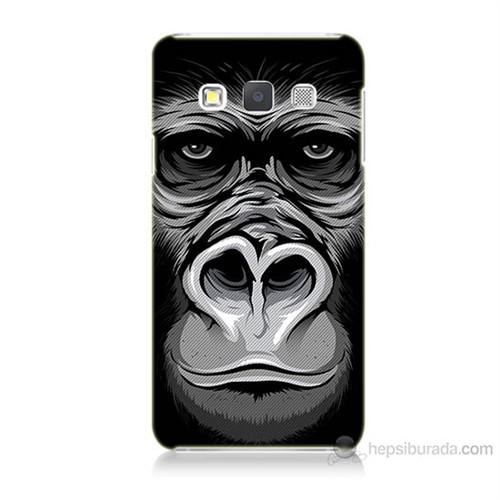 Teknomeg Samsung Galaxy A3 Kapak Kılıf Goril Baskılı Silikon