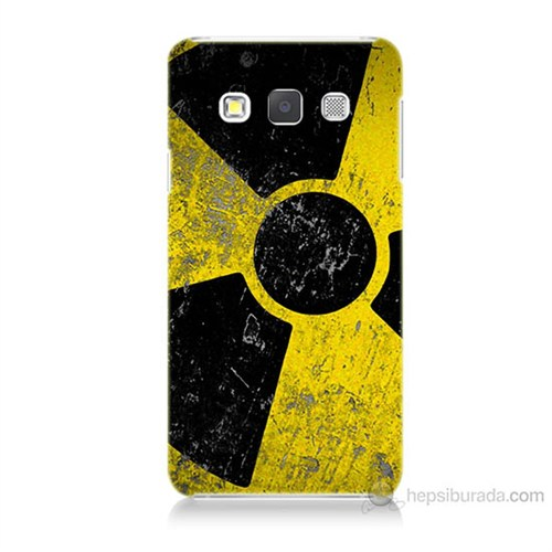 Teknomeg Samsung Galaxy A3 Kapak Kılıf Radyasyon Baskılı Silikon