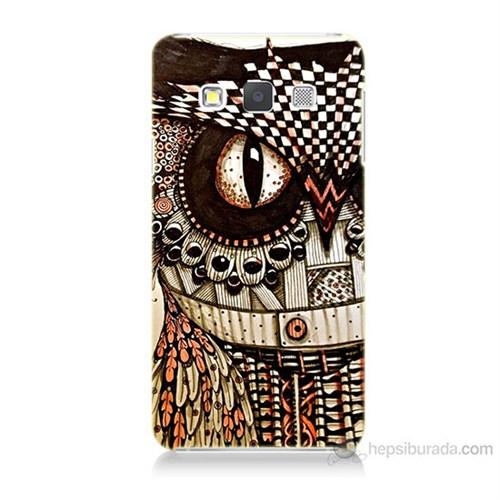 Teknomeg Samsung Galaxy A5 Kapak Kılıf Baykuş Baskılı Silikon