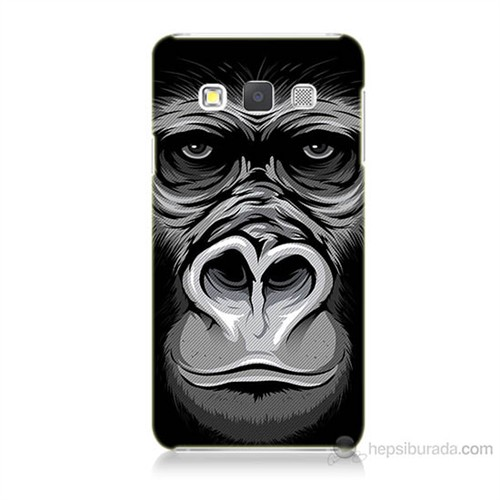 Teknomeg Samsung Galaxy A5 Kapak Kılıf Goril Baskılı Silikon