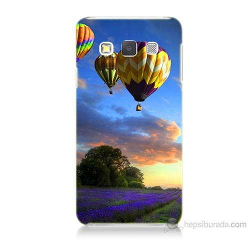 Teknomeg Samsung Galaxy A5 Kapak Kılıf Uçan Balon Baskılı Silikon