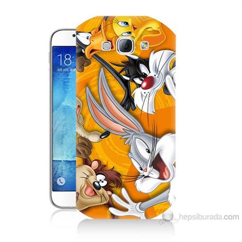 Teknomeg Samsung Galaxy A8 Kapak Kılıf Disney Karakterleri Baskılı Silikon