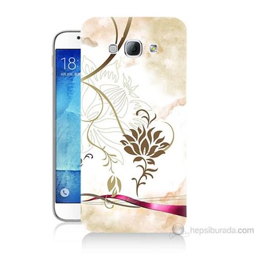 Teknomeg Samsung Galaxy A8 Kapak Kılıf İmagine Baskılı Silikon