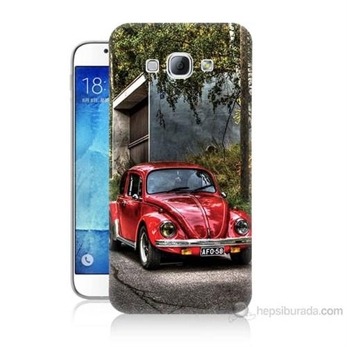 Teknomeg Samsung Galaxy A8 Kapak Kılıf Volkswagen Baskılı Silikon