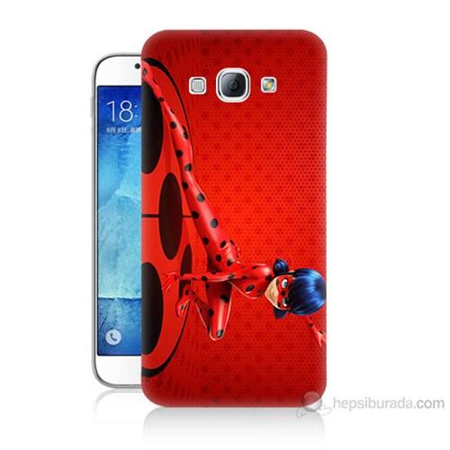 Teknomeg Samsung Galaxy A8 Kapak Kılıf Sevimli Kahraman Baskılı Silikon