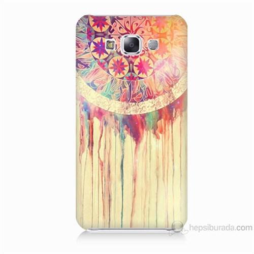 Teknomeg Samsung Galaxy E7 Kapak Kılıf Dream Catcher Baskılı Silikon