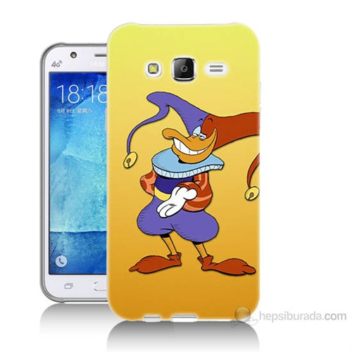 Teknomeg Samsung Galaxy J7 Kapak Kılıf Palyaço Baskılı Silikon