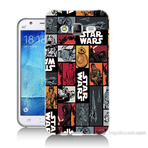 Teknomeg Samsung Galaxy J7 Kapak Kılıf Star Wars Baskılı Silikon