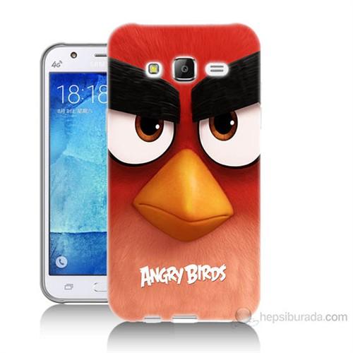 Teknomeg Samsung Galaxy J7 Kapak Kılıf Angry Birds Baskılı Silikon