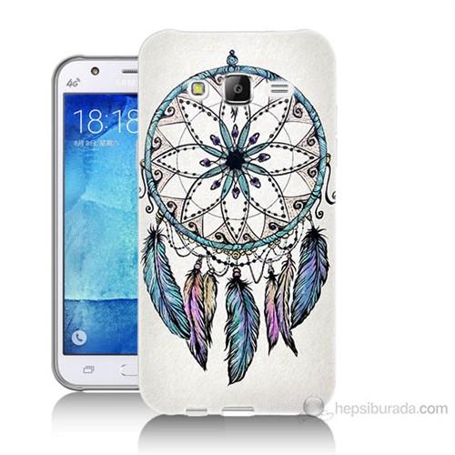 Teknomeg Samsung Galaxy J7 Kapak Kılıf Dream Catcher Baskılı Silikon