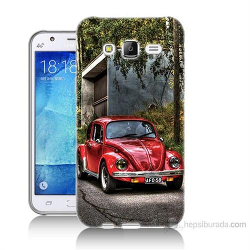 Teknomeg Samsung Galaxy J7 Kapak Kılıf Volkswagen Baskılı Silikon