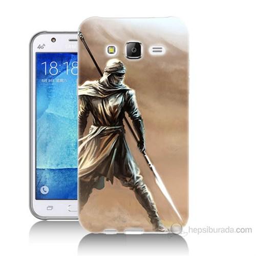 Teknomeg Samsung Galaxy J7 Kapak Kılıf Knight Baskılı Silikon