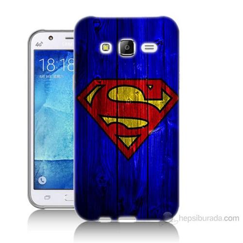Teknomeg Samsung Galaxy J5 Kapak Kılıf Superman Baskılı Silikon