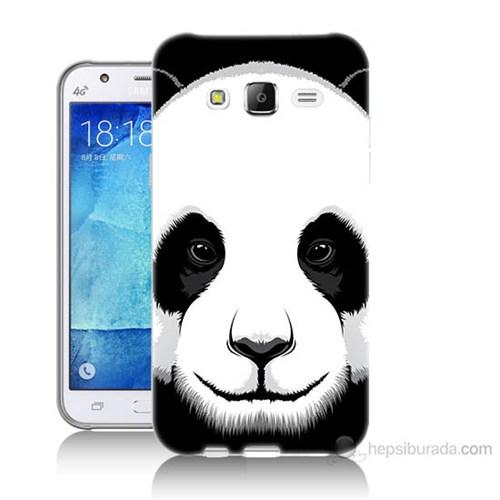 Teknomeg Samsung Galaxy J5 Kapak Kılıf Panda Baskılı Silikon