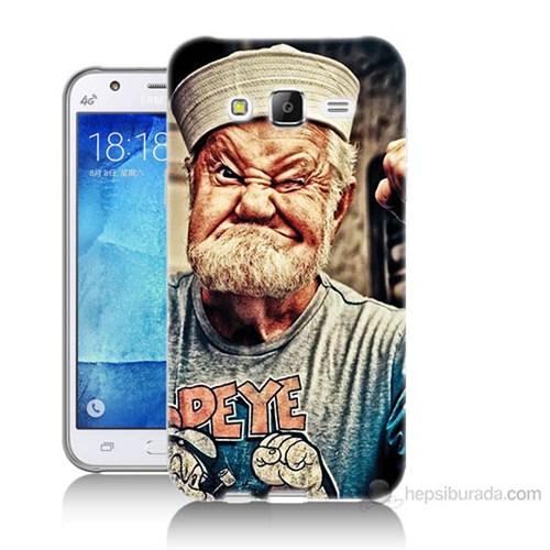 Teknomeg Samsung Galaxy J5 Kapak Kılıf Temel Reis Baskılı Silikon