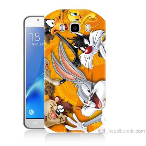 Teknomeg Samsung Galaxy J5 2016 Kapak Kılıf Disney Karakterleri Baskılı Silikon