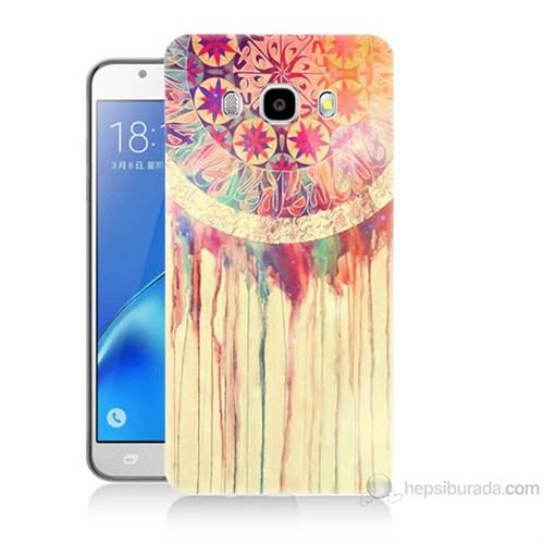 Teknomeg Samsung Galaxy J5 2016 Kapak Kılıf Dream Catcher Baskılı Silikon