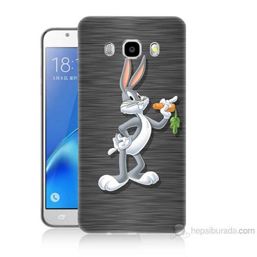 Teknomeg Samsung Galaxy J5 2016 Kapak Kılıf Bugs Bunny Baskılı Silikon