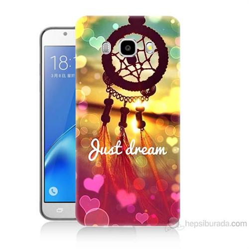 Teknomeg Samsung Galaxy J5 2016 Kapak Kılıf Just Dream Baskılı Silikon