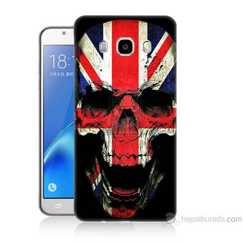 Teknomeg Samsung Galaxy J5 2016 Kapak Kılıf İngiltere Baskılı Silikon