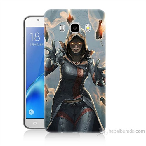Teknomeg Samsung Galaxy J5 2016 Kapak Kılıf Büyücü Baskılı Silikon