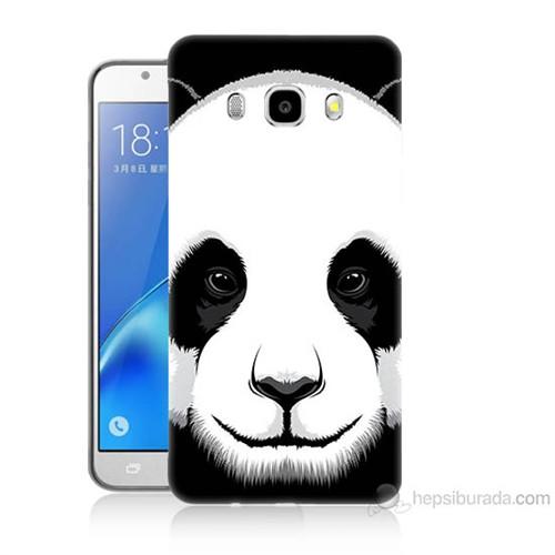 Teknomeg Samsung Galaxy J5 2016 Kapak Kılıf Panda Baskılı Silikon