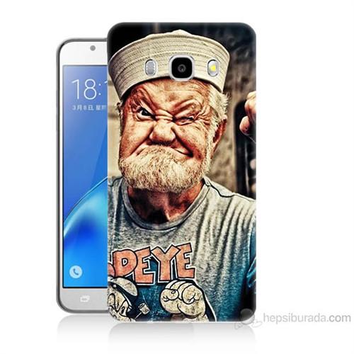 Teknomeg Samsung Galaxy J5 2016 Kapak Kılıf Temel Reis Baskılı Silikon