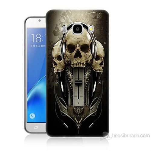 Teknomeg Samsung Galaxy J5 2016 Kapak Kılıf İskeletler Baskılı Silikon