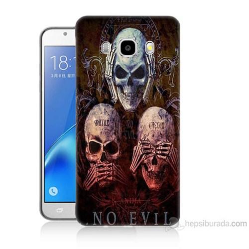 Teknomeg Samsung Galaxy J5 2016 Kapak Kılıf Görmüyom Duymuyom Baskılı Silikon