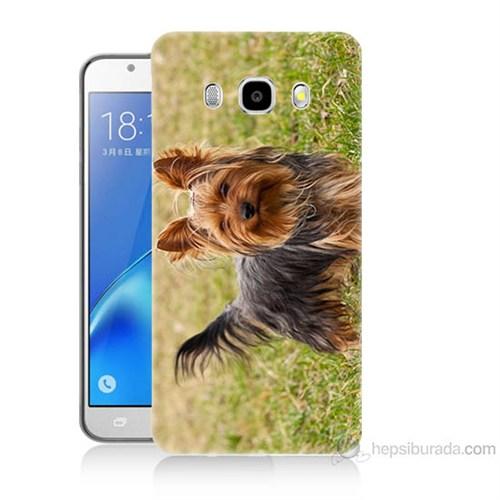 Teknomeg Samsung Galaxy J7 2016 Kapak Kılıf Terier Baskılı Silikon