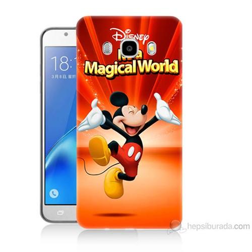 Teknomeg Samsung Galaxy J7 2016 Kapak Kılıf Mickey Baskılı Silikon