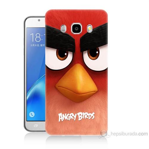 Teknomeg Samsung Galaxy J7 2016 Kapak Kılıf Angry Birds Baskılı Silikon