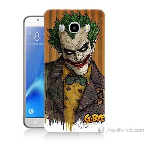 Teknomeg Samsung Galaxy J7 2016 Kapak Kılıf Joker Baskılı Silikon