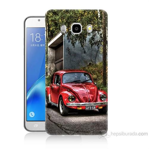 Teknomeg Samsung Galaxy J7 2016 Kapak Kılıf Volkswagen Baskılı Silikon