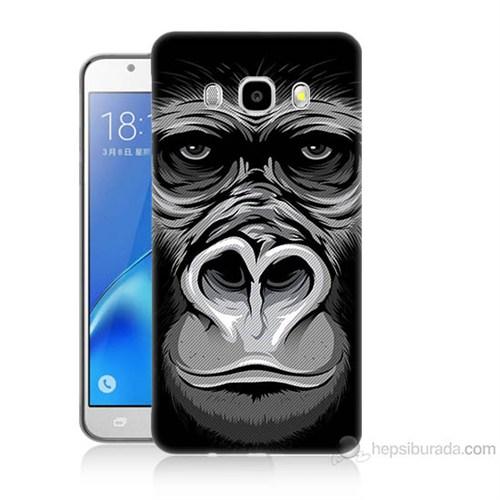 Teknomeg Samsung Galaxy J7 2016 Kapak Kılıf Goril Baskılı Silikon