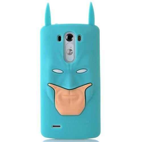 Coverzone Lg G3 Kılıf Silikon Süper Kahraman
