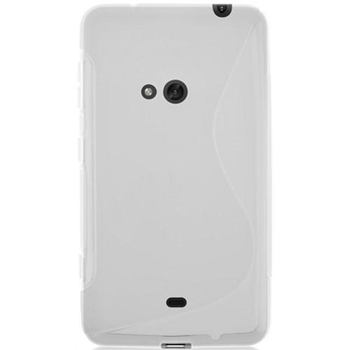 Coverzone Nokia Lumia 625 Kılıf Silikon S-Line
