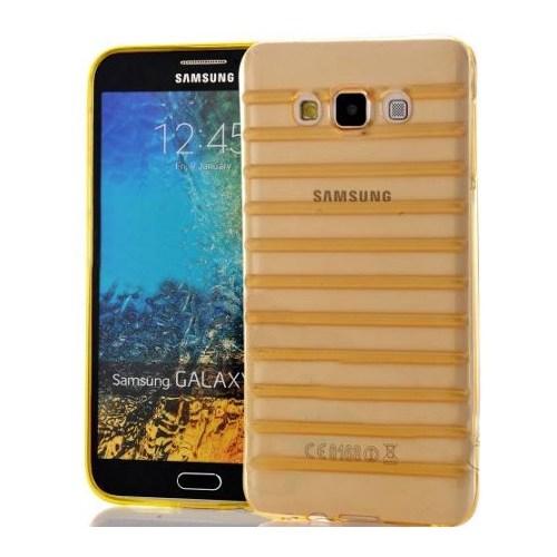 Coverzone Samsung Galaxy Note 4 Kılıf Silikon Çizgili