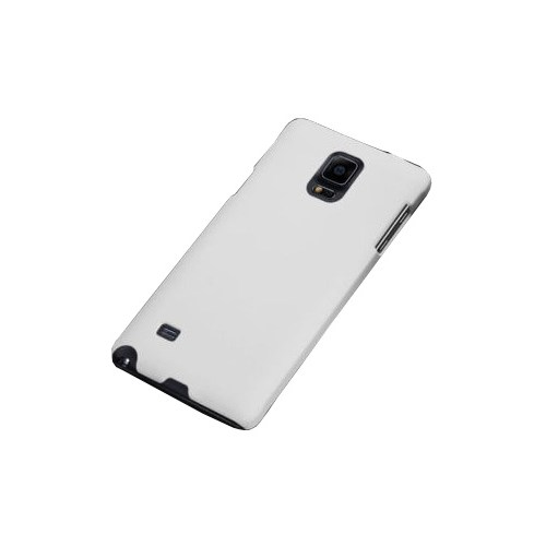 Coverzone Samsung Galaxy Note 4 Kılıf Rubber Sert Arka Kapak