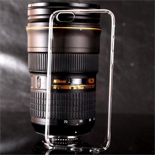 Coverzone İphone 5 Se Kılıf Kristal Kapak Kenarları Kapalı + Kırılmaz Cam