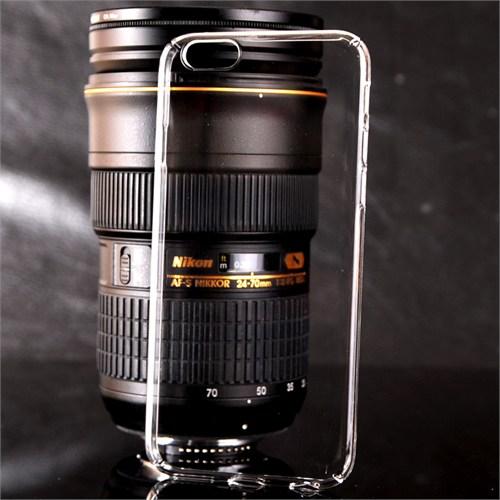 Coverzone İphone 5 5S Kılıf Kristal Kapak Kenarları Kapalı + Kırılmaz Cam