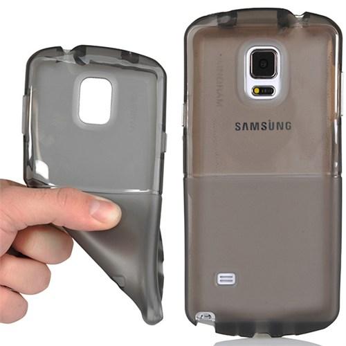 Coverzone Samsung Galaxy Note 4 Kılıf Ekstra Korumalı Silikon