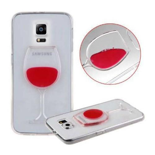 Coverzone Samsung Galaxy Note 4 Kılıf Silikon Kadeh