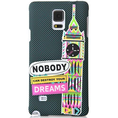 Coverzone Samsung Galaxy Note 4 Kılıf Sert Arka Kapak Dreams