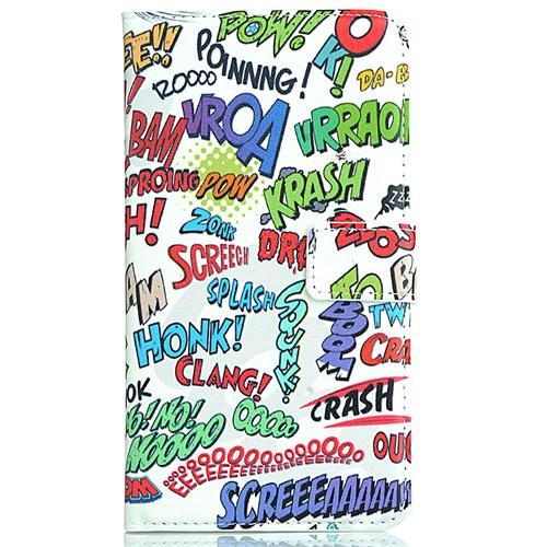 Coverzone Samsung Galaxy Note 3 Kılıf Resimli Kapaklı Krash