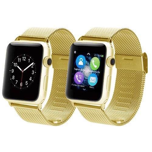 Appscomm İ8 Süper Özel Akıllı Saat Altın
