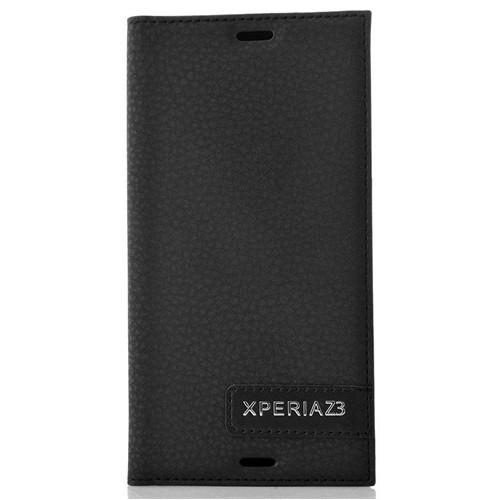 Coverzone Sony Xperia Z3 Kılıf Safir Flip Kapaklı