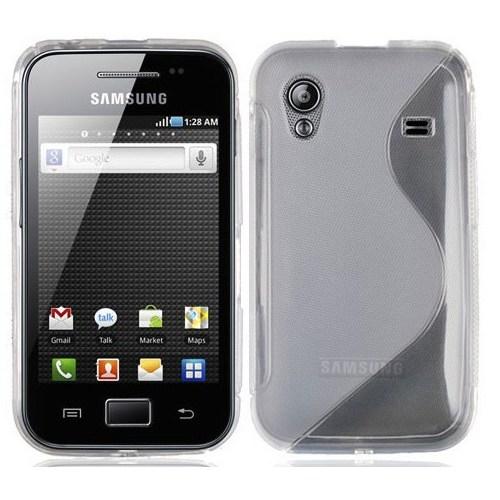 Coverzone Samsung Galaxy Ace S5830 Kılıf Silikon S-Line