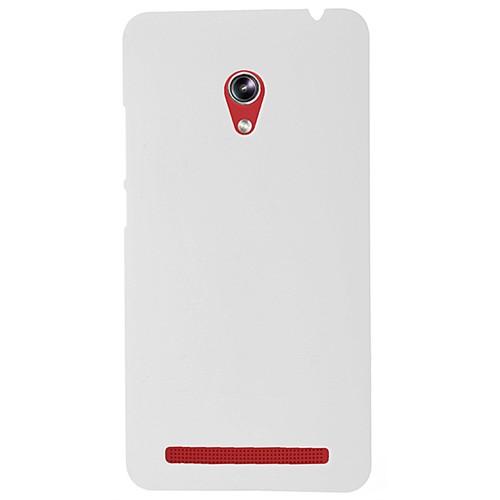 Coverzone Asus Zenfone 5 Kılıf Rubber Sert Arka Kapak + Temperli Cam