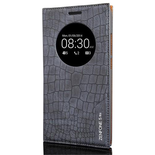 Coverzone Asus Zenfone 5 Lite Kılıf Resimli Kapaklı Rock Kapaklı + Temperli Cam